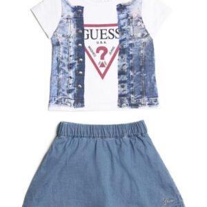 Juego De Camiseta Y Falda de Guess