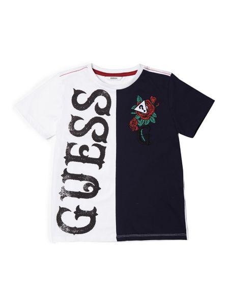 Camiseta Color En Contraste de Guess